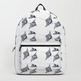Manta ray devil fish Backpack