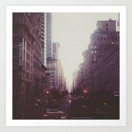 Fifth Avenue, NY Art Print