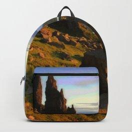 Isle Of Skye Analog Film Compression Preserved Tape Backpack