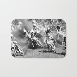 Dusty Race Bath Mat
