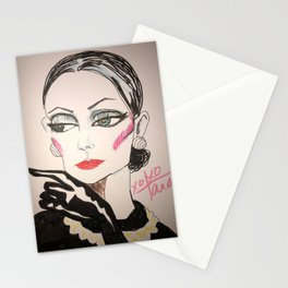 Society Dame Stationery Cards