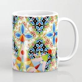Elizabethan Blossom Starburst Coffee Mug