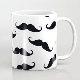 Gentleman mustache pattern Coffee Mug