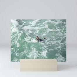 CALIFORNIA SURF Mini Art Print