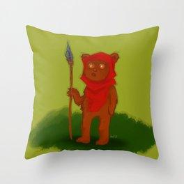 Ewok Throw Pillow