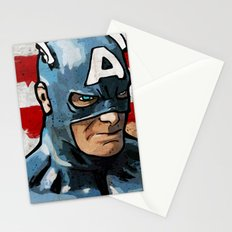 Captain America: God Bless America Stationery Cards