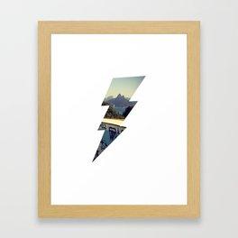 Thunder Rio Framed Art Print