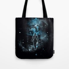 Time Traveller Tote Bag