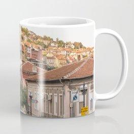 Sunset on Veliko Tarnovo Old Town Coffee Mug
