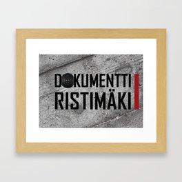 Dokumentti Ristimäki Framed Art Print