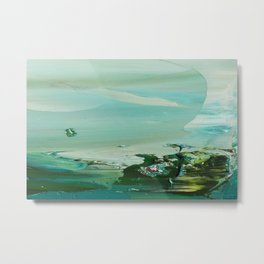 Emerald Shores 2 Metal Print