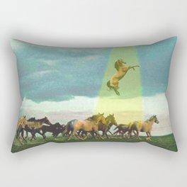 They too love horses Rectangular Pillow