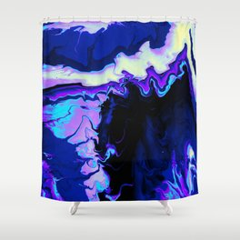 Fluid Astral Reverse Shower Curtain