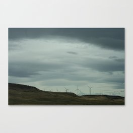 Just hangin in the wind. Canvas Print