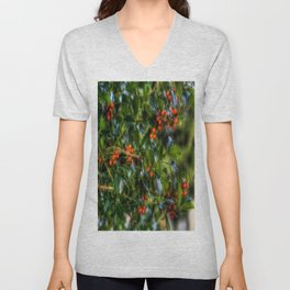 Holly Unisex V-Neck