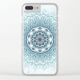 Frankfurter Mandala Clear iPhone Case