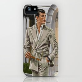 An RL Suit for the Evening iPhone Case