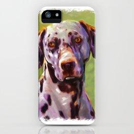 Dalmas  iPhone Case