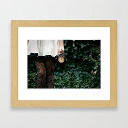 No Time To Say Hello, Goodbye... Framed Art Print