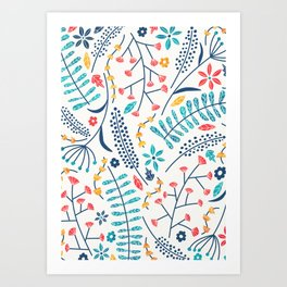 Koromiko Art Print