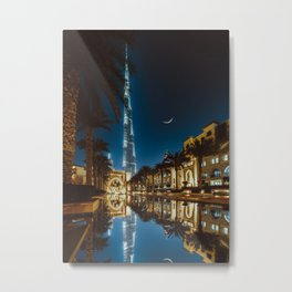 THE PALACE VIEW Metal Print
