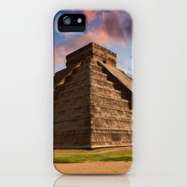 The Feather Serpent - Equinox in Kukulkan Pyramid, Chichen Itza iPhone Case