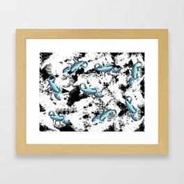 Scorpius Framed Art Print
