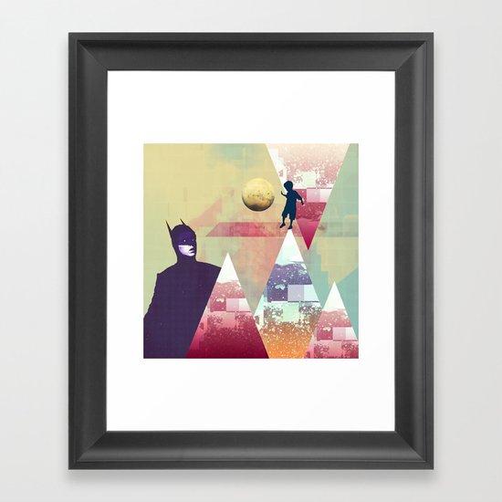 |NEW HEROE(S) DECAY| Framed Art Print