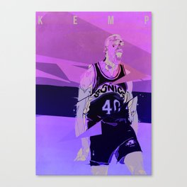 Seattle Reign Man Canvas Print