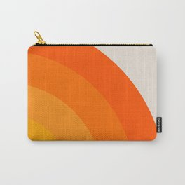 Sunrise Rainbow - Right Side Carry-All Pouch