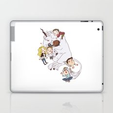 teens and wolves and unicorns Laptop & iPad Skin