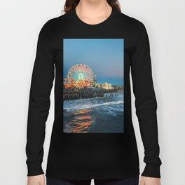 Wheel of Fortune - Santa Monica, California Long Sleeve T-shirt