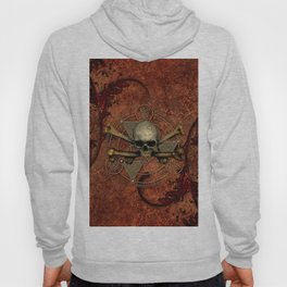 Awesome skull with bones Hoody