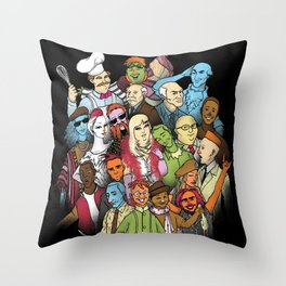 They Were All Human Beings Throw Pillow