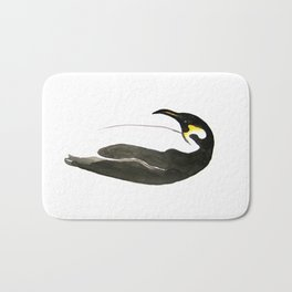 Emperor Penguin Bath Mat