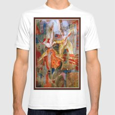 Mechancial Nature MEDIUM Mens Fitted Tee White