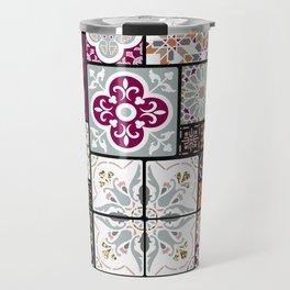 Moroccan Tile Pattern Travel Mug