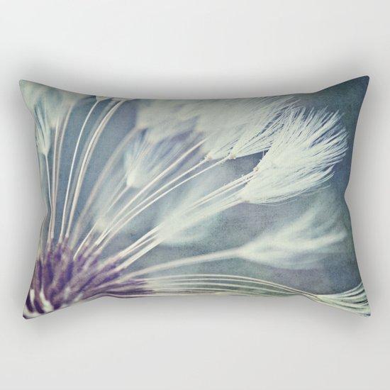 graceful exit Rectangular Pillow
