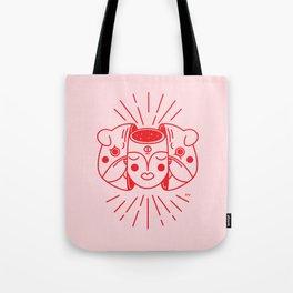 The healing pug Tote Bag