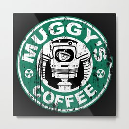 Muggy's Coffee Metal Print