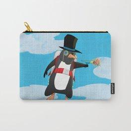 Professor Jetpack Penguin. Esquire.  Carry-All Pouch