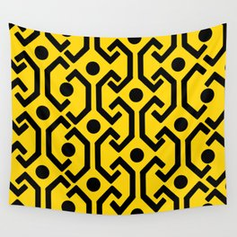 Ethnic Pattern (Yellow) Wall Tapestry