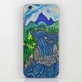 Wild River Kingdom iPhone Skin