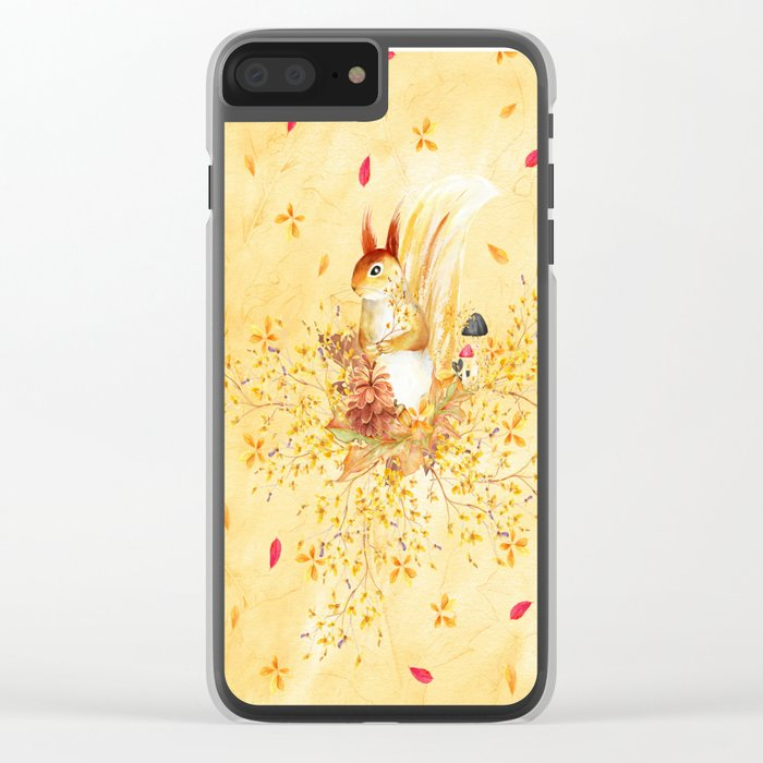 Autumn leaves #30 Clear iPhone Case