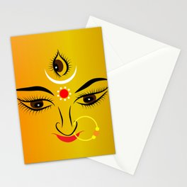 Devi Durga Stationery Cards