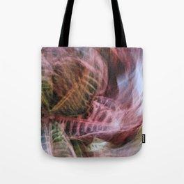 Abstract Hypnotic Garden Tote Bag