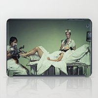 dexter iPad Cases featuring DEXTER by Chryseis Dawn