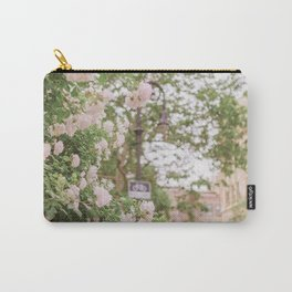 Roses Bloom in the Village Carry-All Pouch