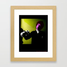 don't think twice it's allright Framed Art Print