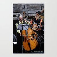 band Canvas Prints featuring Band by AmAnthrAss